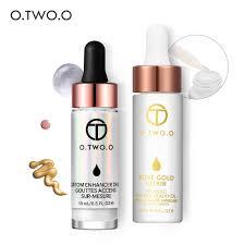 <b>O</b>.<b>TWO</b>.<b>O</b> 2PCS/SET <b>Face Makeup</b> Set (<b>Liquid Highlighter</b>+24k ...