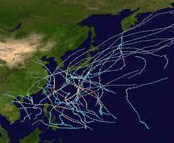 saison cyclonique 1955 dans l'océan Pacifique nord-ouest