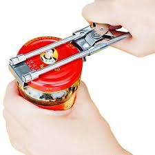 <b>Stainless</b> Steel OpenerCan Bottle <b>Jar Opener Adjustable</b> Cap Screw ...