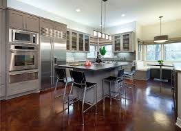 Open Kitchen Living Room Contemporary Kitchen Design Created With Interior Models Traba Homes