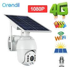 Orendil Kamera Cctv <b>2mp Hd 4g</b> Tenaga Surya Ip Wifi Dengan ...