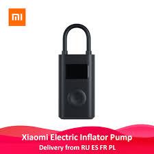 <b>Xiaomi Mijia</b> Inflator <b>Portable</b> Mini LED <b>Smart</b> Digital Tire Pressure ...