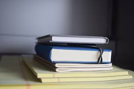 Image result for book school desk