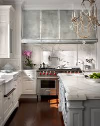 floor french marble kitchen modern french kitchen with white kitchen cabinets paired with marble c