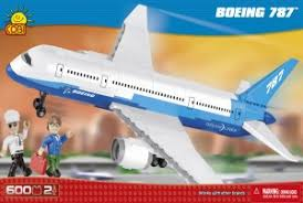 "Пластиковый <b>конструктор COBI</b> ""Самолет <b>Boeing 787</b> Dreamliner ..."