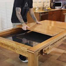 dining table woodworkers: removing middle copy gaming dining table
