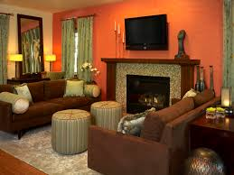 living room colour schemes orange amazing burnt orange living room furniture