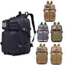 New <b>40L Military Tactical Backpack</b> Rucksack Large Waterproof ...
