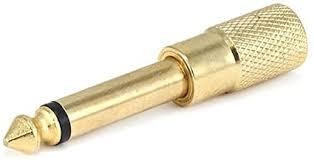 Monoprice Metal 6.35mm (1/4 Inch) Mono Plug to 3.5 ... - Amazon.com