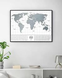 <b>Скретч</b>-<b>карта мира Travel</b> Map Flags World от <b>1DEA</b>.<b>me</b> (арт ...