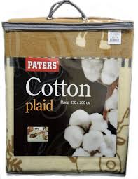 Купить <b>Плед</b> Paters <b>Cotton</b> Морской в интернет-магазине в Москве