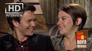 the fault in our stars shailene woodley ansel elgort exclusive the fault in our stars shailene woodley ansel elgort exclusive interview best kiss