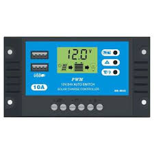<b>12V</b>/<b>24V</b> LCD Display PWM <b>Auto Solar Panel</b> Battery Charger ...
