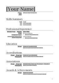 professional resume template microsoft word resume sample