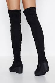 Witching Hour <b>Over-the-Knee Boot</b> | Shop Clothes at Nasty Gal!