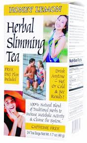 21st Century <b>Herbal Slimming Tea</b> Honey Lemon 24 Tea Bags 3 Pack