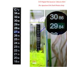 Hot Sale LCD <b>Digital Stick On Thermometer</b> Temperature Gauge ...