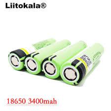 Buy <b>Liitokala</b> 2017 8pcs lot <b>New Original</b> 18650 NCR18650B ...