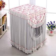 60x60x85cm waterproof floral lace washing machine dust cover laundry home decor hot