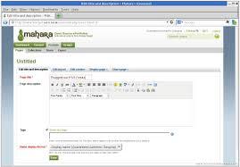 otori example mahara software beneath the waves mahara 1 5 2 page creation 3 8