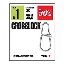 <b>Застежки LUCKY JOHN</b> CROSSLOCK 003 7шт. — купить в ...
