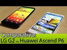 Comparativo: LG G2 vs Huawei Ascend P6 | Tudocelular.com ...