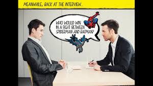 10 weirdest job interview questions