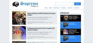 supreme v responsive blogger template supreme v2