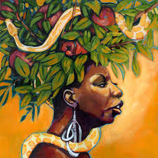 Nina Simone 'Forbidden Fruit'. That apple from the Tree of Knowledge is the 'forbidden fruit' of which she sings. - Forbidden-Fruit-Nina-Simone-Album-Cover-nina-simone-16722157-1800-1800