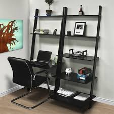 walmart office furniture. Leaning Shelf Bookcase With Computer Desk Office Furniture Home Wood Walmart