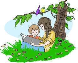Image result for reading  and children