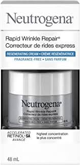 Neutrogena Anti Aging Retinol Face Cream, <b>Rapid Wrinkle Repair</b> ...