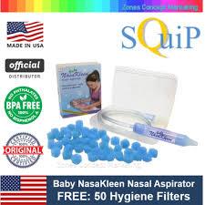<b>Neilmed</b> Squip USA <b>Baby NasaKleen</b> Nasal Aspirator w 50 Filters ...