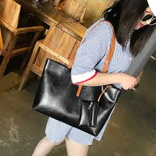<b>Fashion Women</b> Ladies PU Leather <b>handbag</b> shoulder <b>bag</b> Tote ...