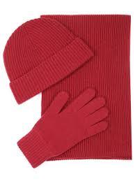 <b>Комплект шапка</b>, шарф, <b>перчатки</b> от johnstons за 16 590 рублей ...