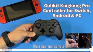 <b>Gulikit Kingkong</b> Pro Controller for Switch, Android & PC - YouTube