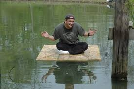 Built the floating duck house     PICS POSTED http   i  photobucket com albums hh  SandRun