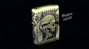 Новая модель <b>Zippo Armor™</b> с <b>покрытием</b> Antique Brass. - YouTube