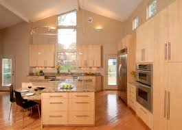 beech wood kitchen cabinets:  contemporary kitchen
