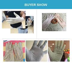 2019 Spring <b>Summer</b> Faux <b>Suede Gloves Men</b> Women Thin ...