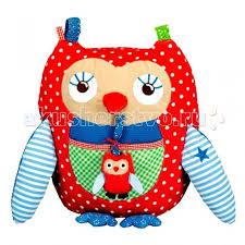 <b>Развивающая игрушка Spiegelburg</b> Сова развивающая Baby Gl& ...