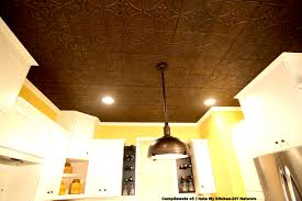 Ceiling Tiles For Kitchen Easy Install Tin Ceiling Tiles 2x4 Bronze Only 1995 Glues
