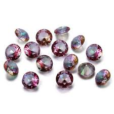 2.5-10 CT <b>Natural Mystic Rainbow Topaz</b> Round Cut Loose ...