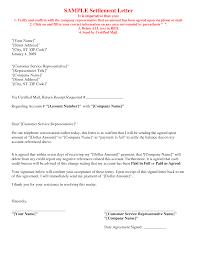 settlement letter template sample settlement letter