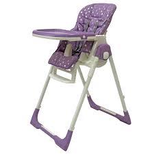 <b>Rant Стульчик для кормления</b> Crystal Fabric цвет фиолетовый ...
