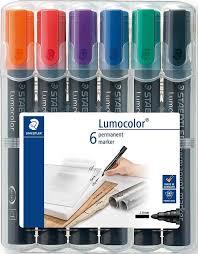 <b>Staedtler</b> Набор перманентных <b>маркеров Lumocolor 352</b> 6 шт ...