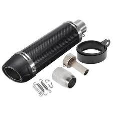 38-<b>51mm</b> universal <b>motorcycle carbon fiber</b> exhaust muffler pipe ...