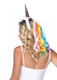 <b>Rainbow Unicorn Headband</b> Adult Halloween Costume - Walmart.com