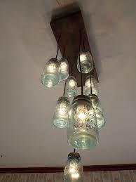 diy mason jar chandelier fixtures diy vintage mason jar chandelier
