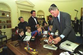 go to linkpop upview separately celebrating hanukkah in the oval office president bill clinton and bill clinton oval office